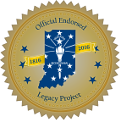 Indiana Bicentennial Legacy Project Logo