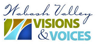 Wabash Valley Visions and Voices Logo